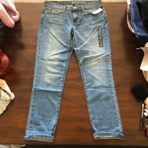 GAP Jeans - Gap Sexy Boyfriend fit distressed Jeans NWT